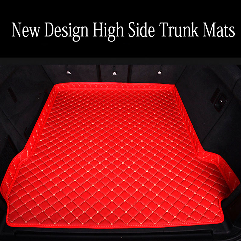 Custom fit Car trunk mats cargo Liner for Citroen C5 C4 Air Cross Picasso C2 C elysee DS5 LS DS6 6D car styling carpet floor lin|  - title=