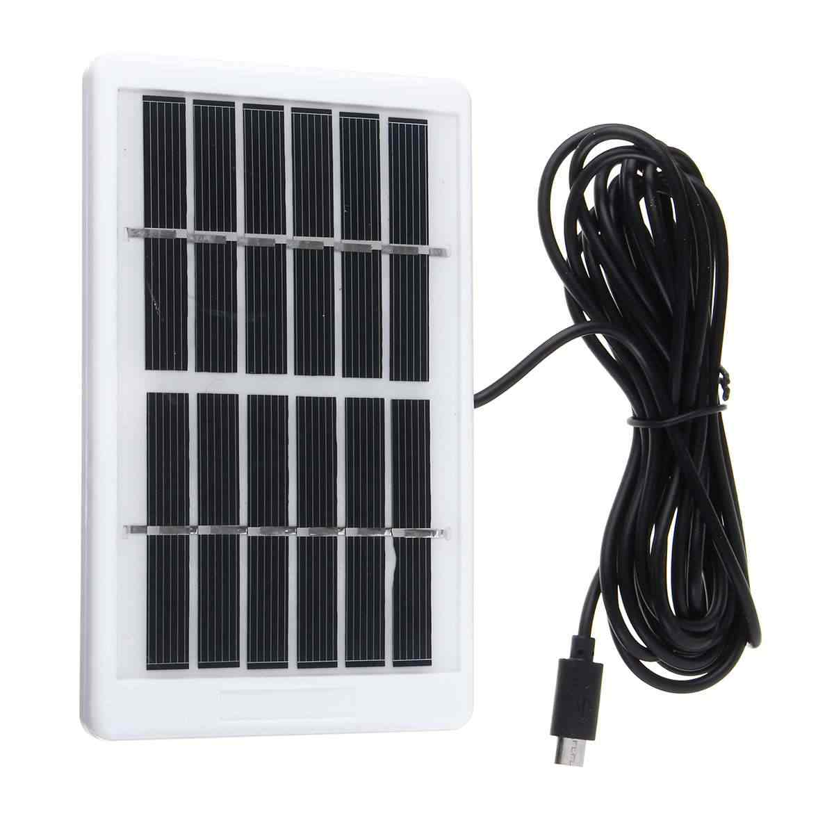 Panel Tenaga Surya/Solar Panel Mini Solar System Diy untuk Sel Baterai Charger Telepon Portabel Solar Cell untuk Multi-Fungsi Rumah Tangga Berkemah 6V12W