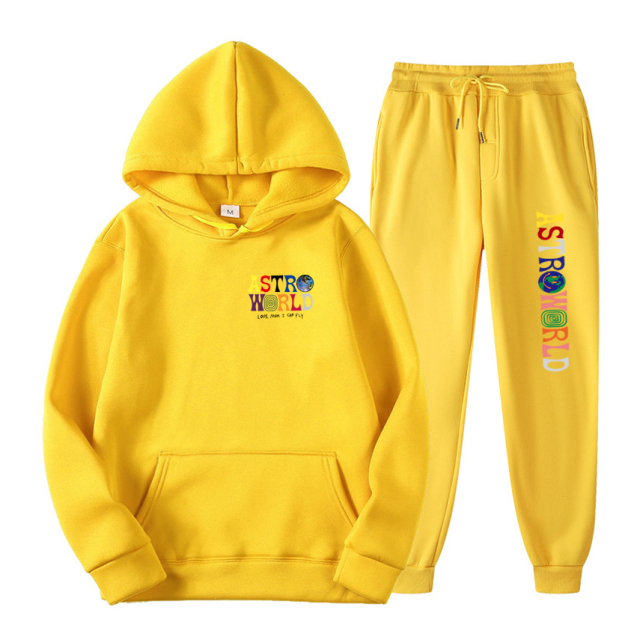 Astroworld WISH YOU WERE HERE Hoodies and Pants 1