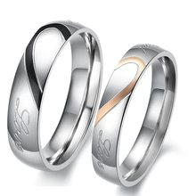 Anéis unissex polidos de aço inoxidável, joias da moda, unissex, polido, sólido, de aço inoxidável, para homens e mulheres, tamanho us 5 6 7 8 9 10 11 12 13 14 15