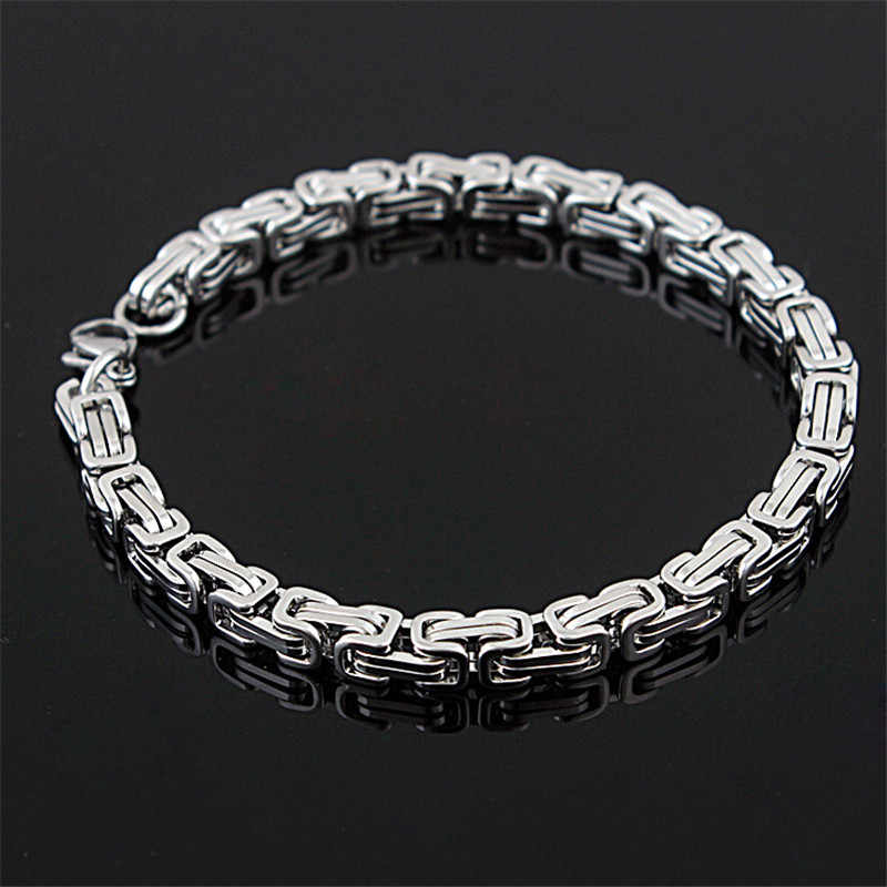 MD Stainless Steel Gelang Link Rantai Sepeda Gelang untuk Pria Perhiasan Fashion Berkualitas Baik