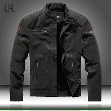 겨울 남성 폭격기 재킷 캐주얼 군사 남성 Outwear 양털 두꺼운 따뜻한 재킷 자켓 망 Pu 가죽 야구 코트