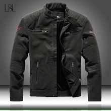 Winter Mens Bomber Jackets Casual Military Male Outwear Fleece Thick Warm Windbreaker Jacket Mens Pu Leather Baseball Coats