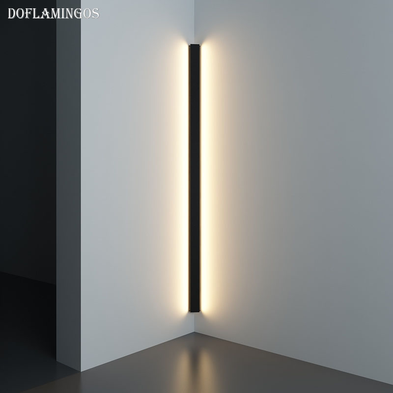 Modern Corner Led Wall Lamp Minimalist