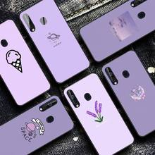 YNDFCNB Purple background pattern Phone Case for Samsung A30s 51 5 71 70 40 10 20 s 31 A7 A8 2018