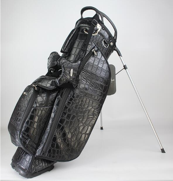 Golf Bag 14 Bags High-grade Crocodile Pattern Bag Waterproof Bag Ultra Light Golf Bracket Bag
