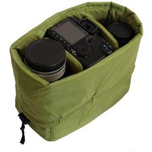 Image 2 - RISE กันน้ำใส่ Partition กระเป๋ากล้องเลนส์สำหรับกล้อง DSLR SLR