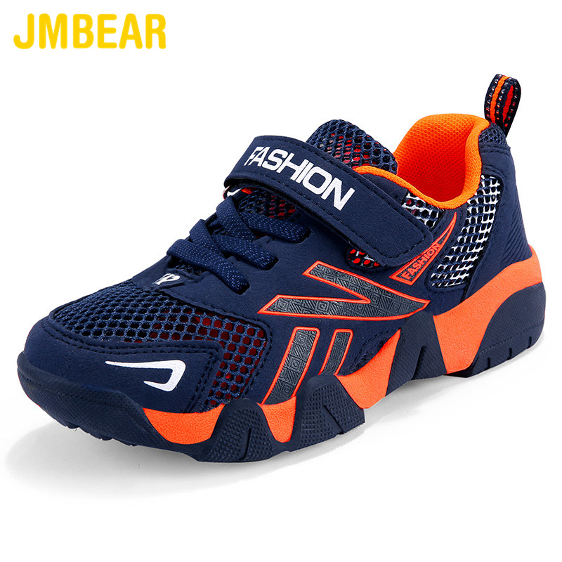 JMBEAR children's shoes new summer fashion casual mesh breathable lightweight non-slip boys sneakers детская обувь 1712