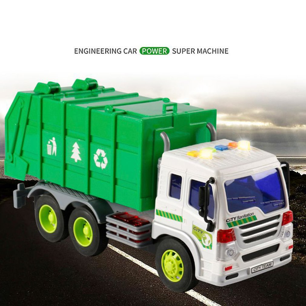 Grande 1 16 caminhão de lixo bin