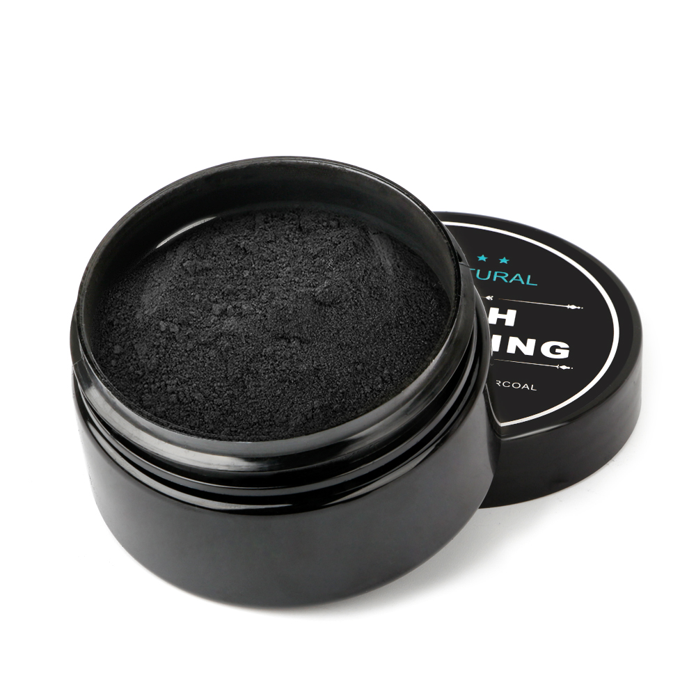 Lens Cap - Tooth Care Natural Activated Charcoal Teeth Whitening Powder Toothpaste Oral Hygiene Dental