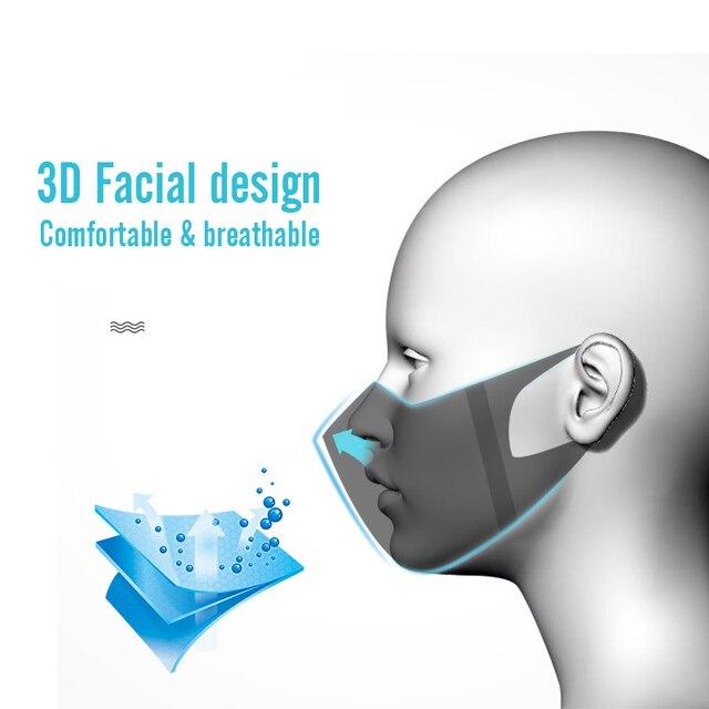 50pcs Disposable 3 Layer Filter Children Mouth Face Mask Dust PM2.5 Masks Breathable Anti-dust Virus Flu Protective Masks 1