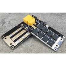 DIY zgrzewanie punktowe szpilki przenośne 12V akumulator przechowywanie energii zgrzewanie punktowe płytka obwodu drukowanego do zdalnie sterowanego samolotu części zapasowe do samochodów