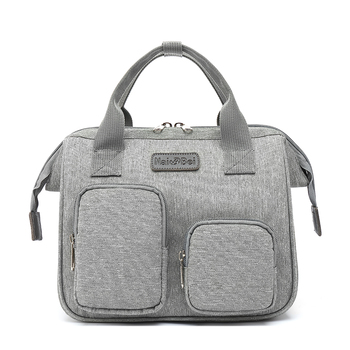 Diaper Bag Mummy Maternity Bags For Baby Stuff Small Baby Nappy Changing Backpack For Moms Travel Women Bag Stroller Organizer - Style B-gray