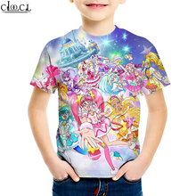 T-Shirt Pretty Cure Clothing Shorts Girls Boys Kids Star Print 4-To-13-Years Hoodie Twinkle