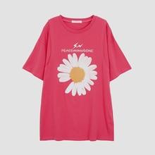 T-Shirt Blouse Short-Sleeve Nursing-Clothes Pregnancy-Shirt3928 Pure-Cotton Maternity-Mid-Length