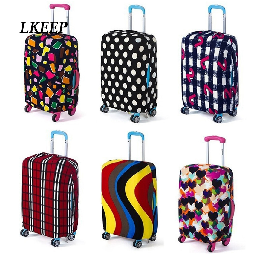 2019 Travel Luggage Suitcase Protective Cover Trolley Case Travel Luggage Dust Cover Travel Accessories Packing Organizer