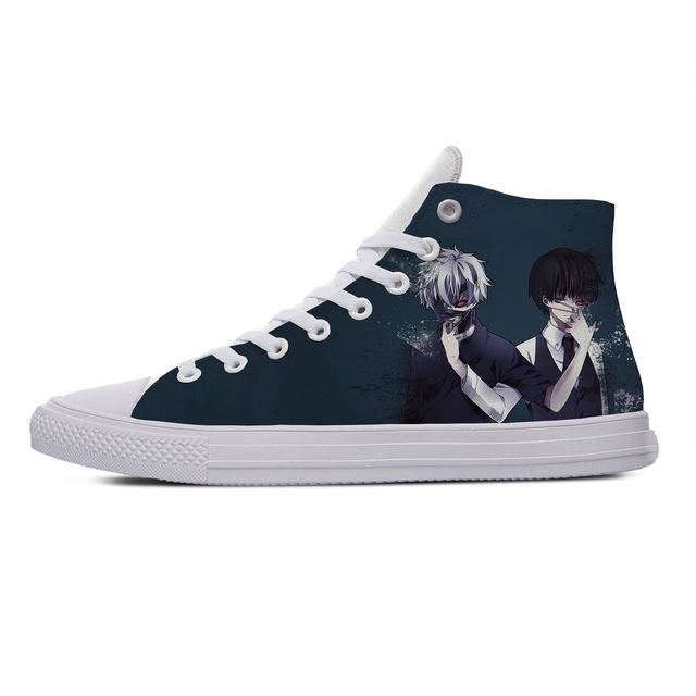 TOKYO GHOUL THEMED HIGH TOP SHOES