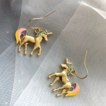 Neatear 2019 new fashion animal earrings unicorn cute net red designer