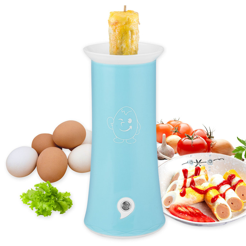 Automatic Electric Egg Master Cooker Single Tube Breakfast Scrambled Egg Sausage Boiler Egg Sandwich Roll Easy Omelette Cooker