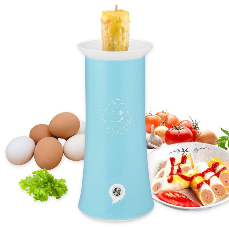 Automatic Electric Egg Master Cooker Single Tube Breakfast Scrambled Egg Sausage Boiler Egg Sandwich Roll Easy Omelette Cooker