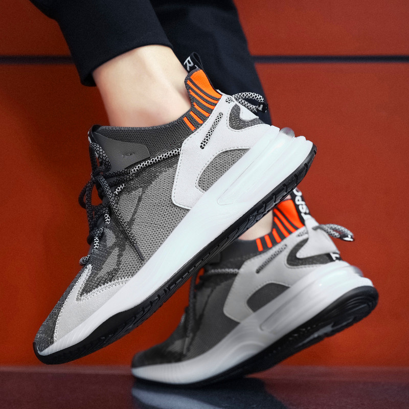 New Outdoor Athletic Training Sneakers Blade Cushioning Sneakers Mesh Running Shoes For Men Breathable Professional Sports Shoes