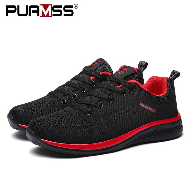 New Mesh Lightweight Comfortable Breathable Walking Sneakers Tenis Shoes 1