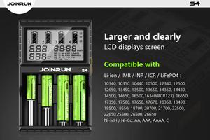 Image 4 - Cargador de batería de ion de litio 2.0A, Ni MH ni cd ni md 26650 18650 20700 21700 AA AAA, cargador de batería LCD
