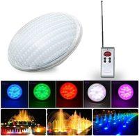 Par 56 RGB Luz de piscina LED impermeable iluminación de estanque IP68 RGB lámpara de luz subacuática al aire libre
