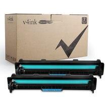 V4ink 2pk совместимый hp 19a cf219a барабан для laserjet pro