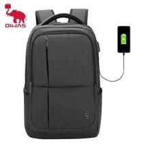 Laptop Backpack Bookbag Usb-Charging Business Teenage Travel 17inch Large-Capacity Men's
