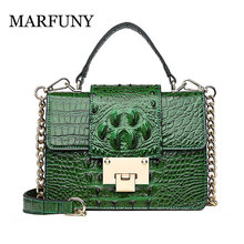 2019 Sac A Main Femme Crossbody Bags for Women Handbags Crocodile Print Designer Tote Chain Ladies Messenger Bag