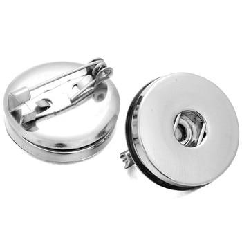 ¡Novedad! Broche amuleto de broche a presión con cierre a presión de 18mm y botones a presión, accesorio de joyería DIY ZI045