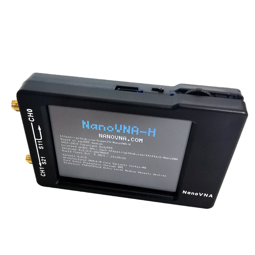 UHF 8inch Vector 1 2 UV 2020 VNA LCDHF Antenna VHF H Network Analyzer 50KHz New NanoVNA Analyzer 5GHz