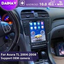 Android 10.0 samochodowe Radio Stereo dla Acura TL 2004 2005 2006 2007 2008 GPS film nawigacyjny odtwarzacz multimedialny w pełni dotykowy 2din