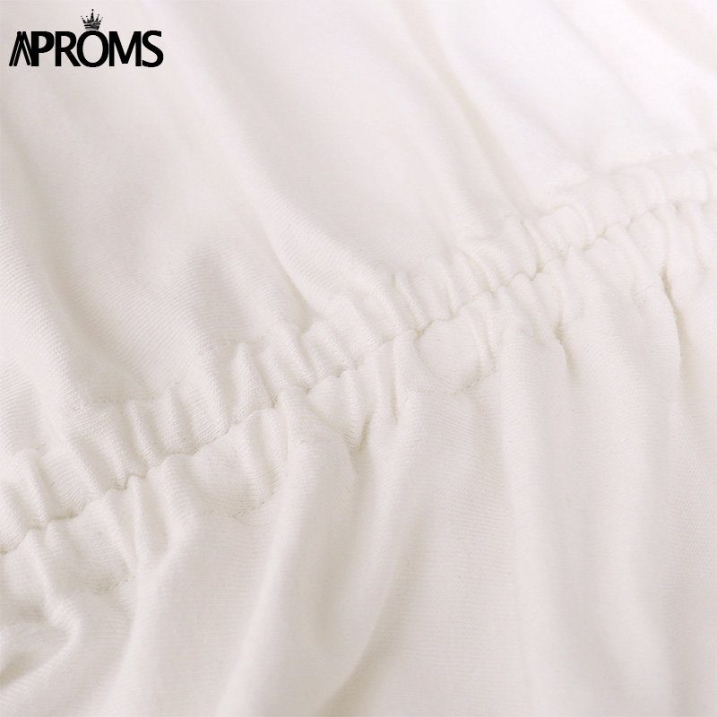 H714229fc3f2a4de898c03f3d12d8acf2R - Aproms Sexy White Long Sleeve Crop Top Autumn Casual Drawstring Ruched T-shirt Female Cropped Tshirt Top for Women Clothing