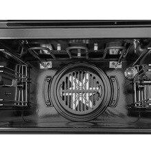 Встраиваемая духовка бытовая электрическая духовка многофункциональная Встроенная интеллектуальная печь для выпечки Встроенная печь из нержавеющей стали алюминий