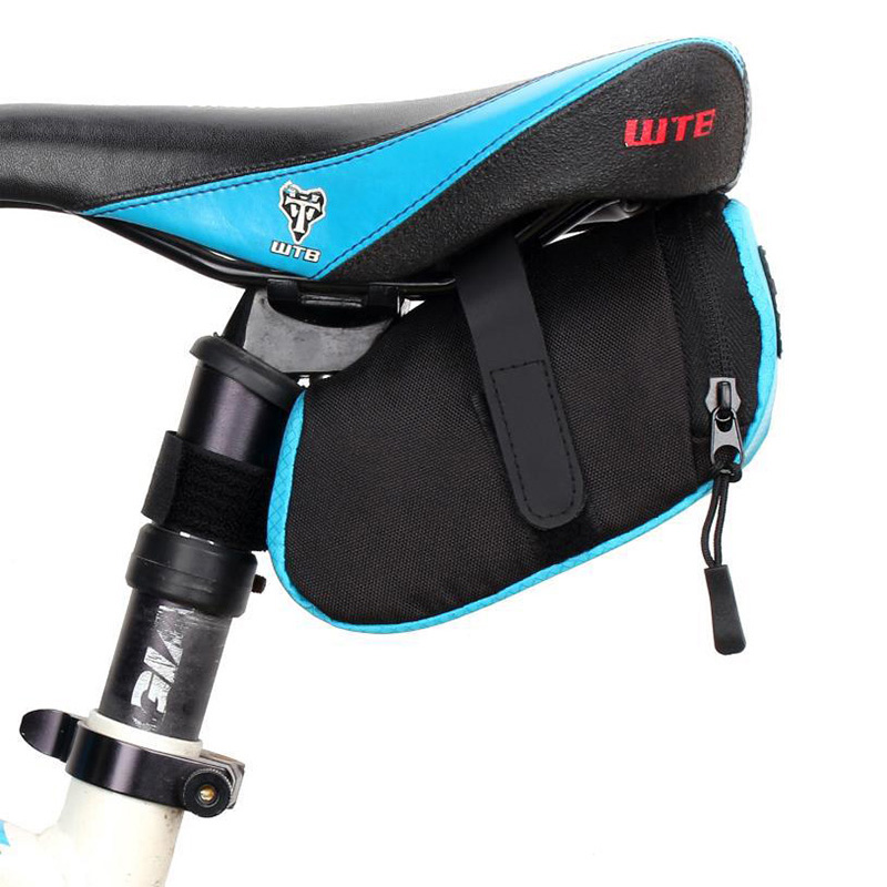 Bicycle <font><b>Saddle</b></font> Bag Waterproof Storage Tail Pouch <font><b>Bike</b></font> Back Seat Package Outdoor Cycling Rear Bags <font><b>Bikes</b></font> Accessories RR7350 image