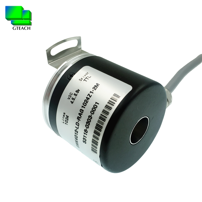 K4012 Outer Diameter 40mm Hole 12mm Through Hole Hollow Shaft Type Incremental Rotary Encoder E40HB12