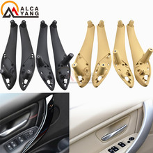 Cream Interior Beige Pull-Handle-Cover Inner-Door Front-Rear Black for BMW F30 F80 F35