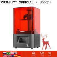 CREALITY 3D Printer LD 002H Photon 3D Drucker high precision LCD light curing 360 degree visual printing 3d printer