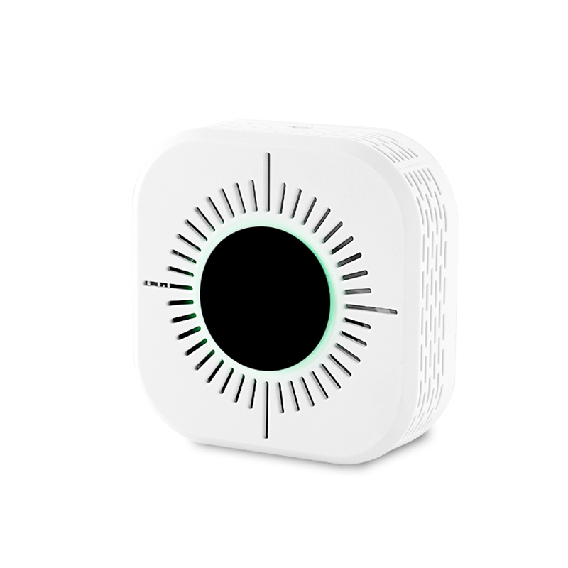 AMS-2 In 1 CO Smoke & Carbon Monoxide Detector Alarm For Smart Home Alarm Security 433MHz Ring Alarm System