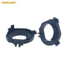Adapters FEELDO Bulb-Holder Wagon-Lamp-Base 2pcs H1 for KIA K7 Cadenza -Hq6400 Hyundai