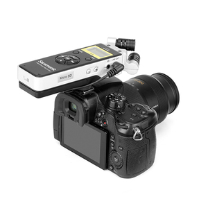 Image 3 - Saramonic SR Q2 Q2M שימושי וידאו אודיו מקליט DSLR למצלמות Smartphone סטריאו מיקרופון ראיון הקלטת מיקרופון