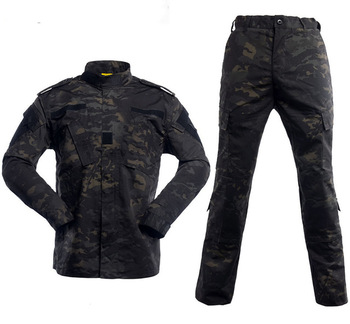 Multicam Black Military Uniform Camouflage Suit Tatico Tactical Military Camouflage Airsoft Paintball Equipment Clothes 1