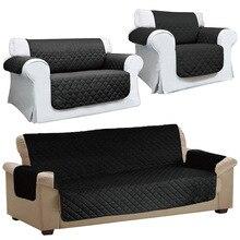 Стеганный диван для кресел и диванов ПЭТ протектор скольжения крышка Подушка для мебели кидает TN88