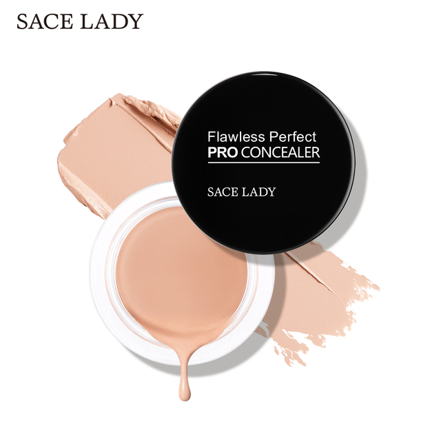 SACE LADY 6 color Full Cover base Make Up primer waterproof concealer palette maquillag Eye Dark Circles Cream Face Corrector