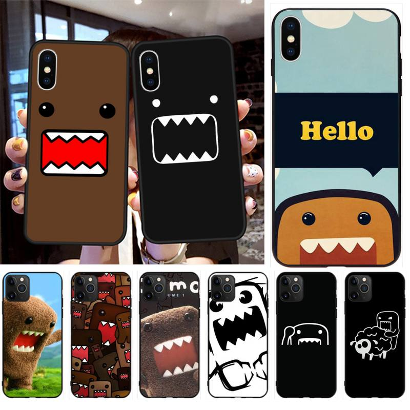 KPUSAGRT Domo Kun Luxury Phone Case for iPhone 11 pro XS MAX 8 7 6 6S Plus X 5S SE 2020 XR case