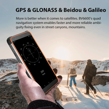 """Blackview BV6600 IP68 Waterproof 8580mAh Rugged Smartphone Octa Core 4GB+64GB 5.7"""" Mobile Phone 16MP Camera NFC Android 10 5"""