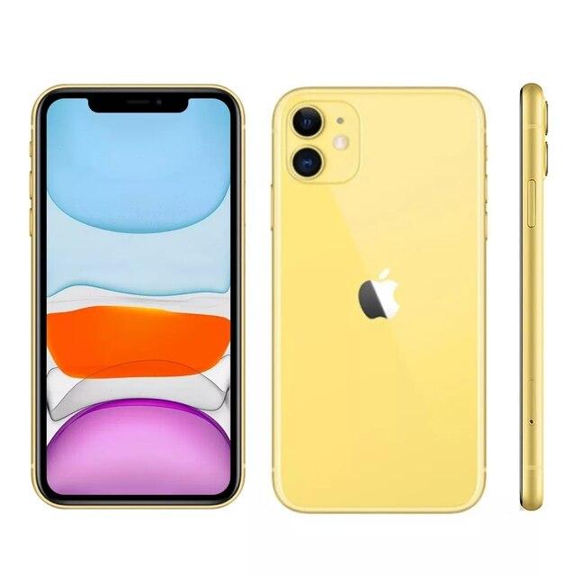 "iPhone 11 Apple (64GB) Preto Tela 6,1"" 4G Câmera 12MP iOS 6"