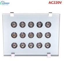 Cctv лампа освещения для камеры dc220v 15 шт ir led осветитель